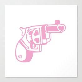 Love gun. Canvas Print