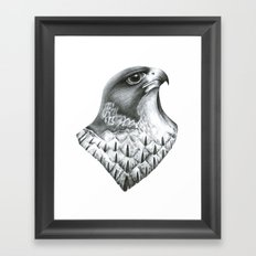 Falcon Framed Art Print