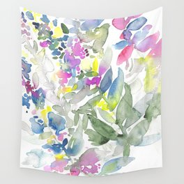 Colourful Leafs Wall Tapestry