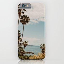 Laguna Beach ocean view | Fine Art Travel Photography iPhone Case