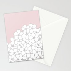 Forget Me Knot Pink Boarder Stationery Cards