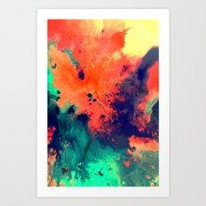 Immerse Art Print