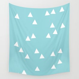 Sailing Triangles Wall Tapestry