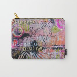 Beautiful Girl Carry-All Pouch