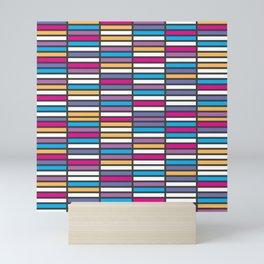 Color Grid 01 Mini Art Print