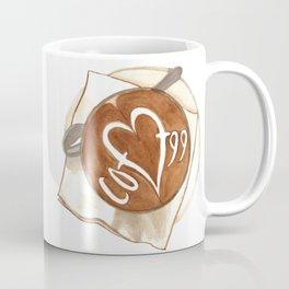 Coffee Love Latte Art Coffee Mug