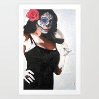 sublime Art Prints featuring Sublime by Natasha Monnereau