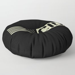 CID (Black Flag) Floor Pillow