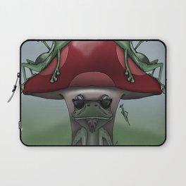 Shroom Frogs Laptop Sleeve