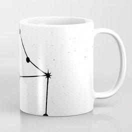 VIRGO (WHITE & BLACK) Coffee Mug