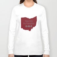 ohio state Long Sleeve T-shirts featuring OHIO by Amanda Pavlich