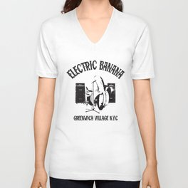 A Tribute To Spinal Tap Electric Banana Club Cult Movie Electric T-Shirts Unisex V-Neck