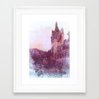 castle Framed Art Prints featuring Castle by Nechifor Ionut