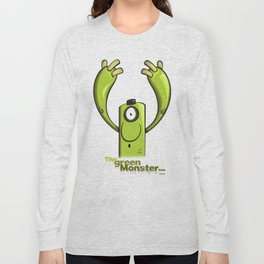 THE GREEN MONSTER... Long Sleeve T-shirt