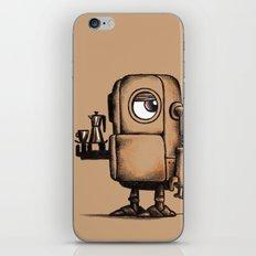 Robot Espresso #1 iPhone & iPod Skin