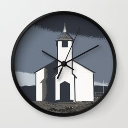 Morley Church by the River Wall Clock