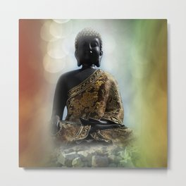 silence in your mind -1- Metal Print