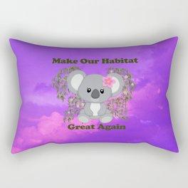 Save Koala Rectangular Pillow
