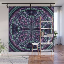 Stained Glass Wall Mural