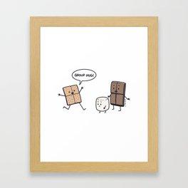S'more Lovin' Framed Art Print