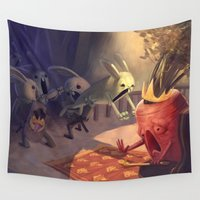 revolution Wall Tapestries featuring Revolution by Gromy