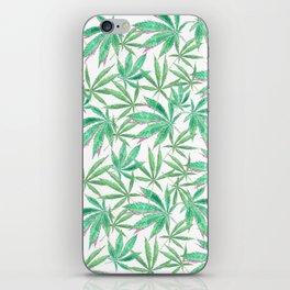 420 Leaves iPhone Skin