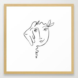 Picasso's First Lady Framed Art Print