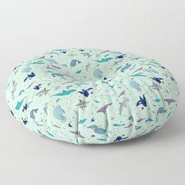 Sea Animals Floor Pillow