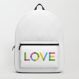 LOVE – Multicolor Backpack