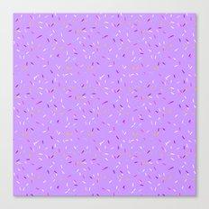 Omg, Sprinkles Canvas Print