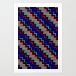Pixel Stack no.1 Art Print