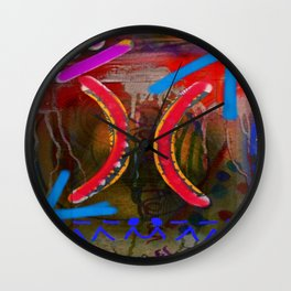 Balance I Seek Wall Clock