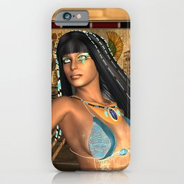 Wonderful egyptian women iPhone Case