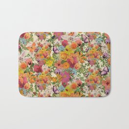 FLORAL // LIFE OF FLOWERS Bath Mat