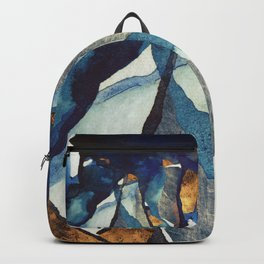 Cobalt Abstract Backpack