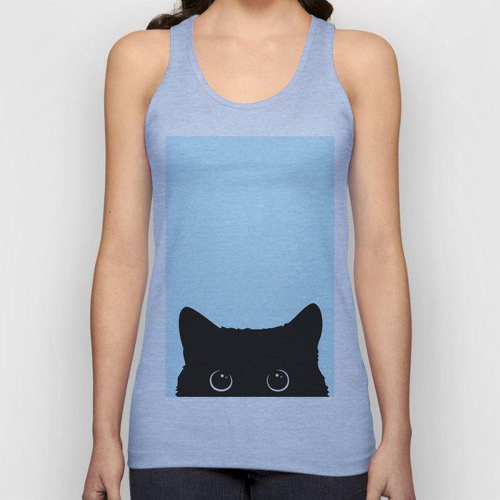 Black cat I Unisex Tanktop