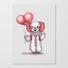 They All Float Down Here Canvas Print