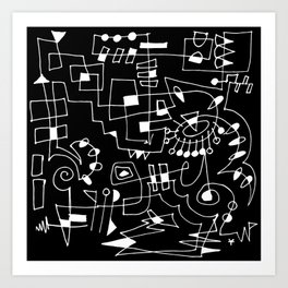 Circuit II Art Print