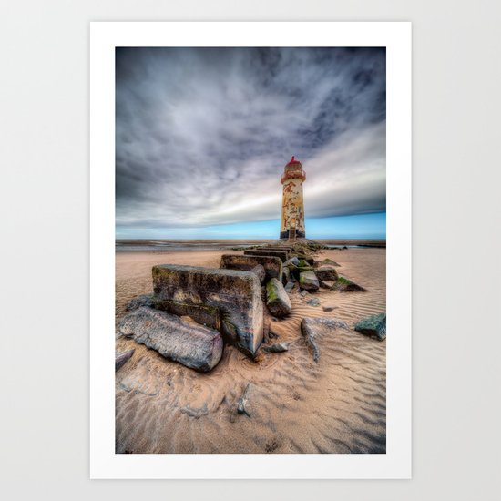 Talacre Light House Art Print
