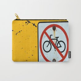NO BIKES Carry-All Pouch