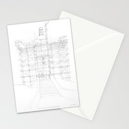 Construction of Christ the Redeemer (1922-1931) Stationery Cards