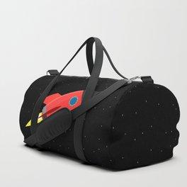 Rocket In Space Duffle Bag