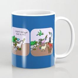 So Embarrassing (Horned Warrior Friends) Coffee Mug