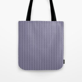 Black and Lavender Skulls Tote Bag