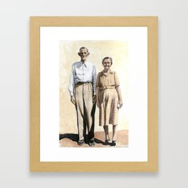 Cuople Framed Art Print