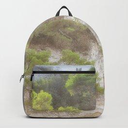 foggy sand dunes  Backpack