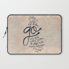 Go Into All The World Laptop Sleeve