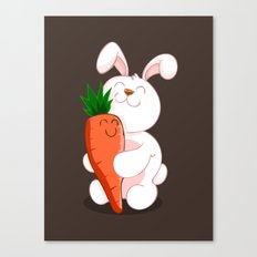 Bunny Luv! Canvas Print