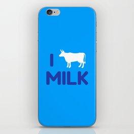 I heart Milk iPhone Skin