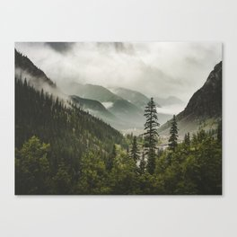Valley of Forever Canvas Print